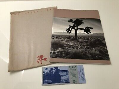 U2 Joshua Tree Tour Program Ticket Stud • 50£