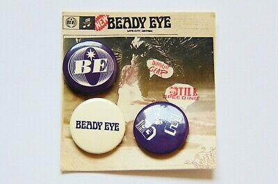 Beady Eye / Liam Gallagher Official Dg, Ss Badge Set • 11£