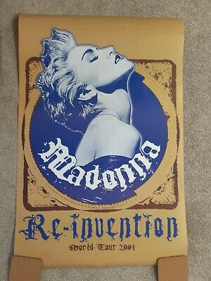 Madonna Poster Rare Reinvention Tour Poster  • 28£