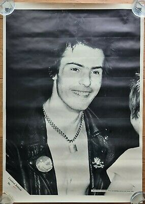 Sid Vicious Sex Pistols Bassist 1978 Poster Limited Edition • 60£