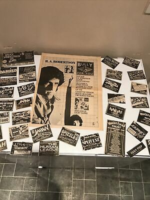 The Damned. Advertisement Cards Original Ebay • 3.99£