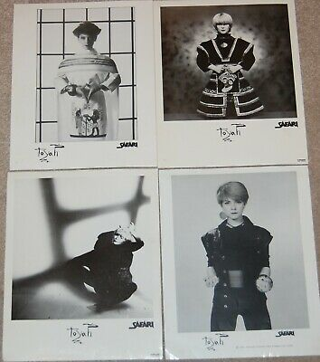Toyah Safari Promotional 1980 Photograph 10 X 8 Fan Club Intergalactic Set Of 4 • 7.50£