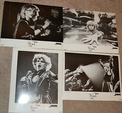 Toyah Safari Promotional 1980 Photograph 10 X 8 Fan Club Set Of 4 Live • 7.50£