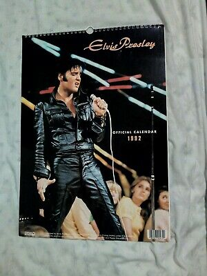 Elvis Presley Official Calendar 1992  • 20£