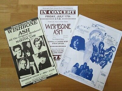 Wishbone Ash - Collection Of Flyers  • 4.99£