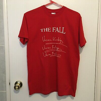 The Fall T-shirt - Unseen Knowledge Footage Facts - Mark E Smith - Medium - RARE • 2.99£