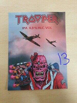 Iron Maiden Trooper Beer Clip IPA • 5.99£