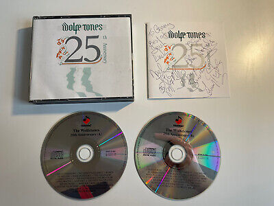 """Wolfe Tones 25th Anniversary Double CD Signed """"To Gerry"""" HMCD 50 Irish Music • 88.06£"""