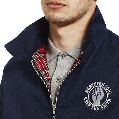 Northern Soul Keep The Faith Clothing Gift Harrington Jacket. • 24£