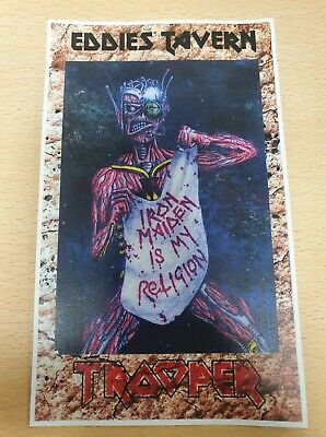 Iron Maiden  Trooper Beer Eddies Tavern Variant Clip  • 5.99£