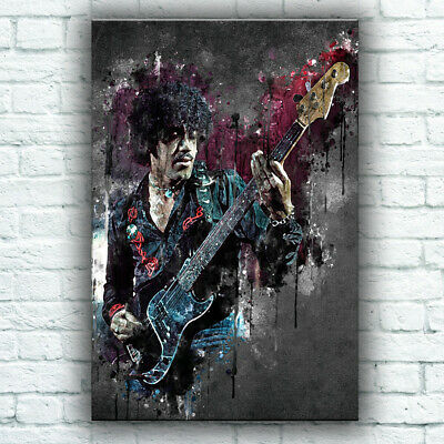 Phil Lynott Thin Lizzy Abstract Poster - 3 Sizes • 14.95£