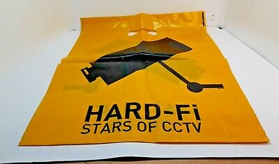 Hard-Fi Stars Of CCTV Promotional Carrier Bag Approx 16  X 13.5  RARE • 2.99£