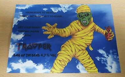 Iron Maiden Trooper Beer Clip Day Of The Dead • 5.99£