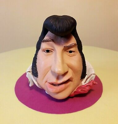 Very Rare Mood Drops Head Bust Of An Elvis The King Impersonator  • 11.99£