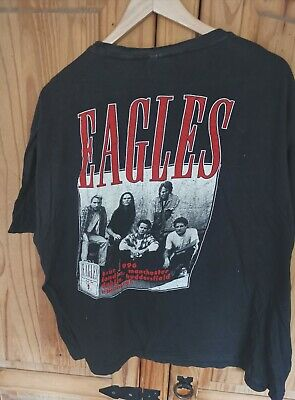 The Eagles Hell Freezes Over 1996 UK Tour T-Shirt M • 10£