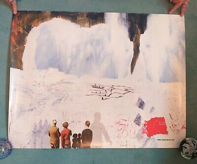 Radiohead Promo Shop Poster Featuring Kid A Art By Stanley Donwood Original • 19.99£