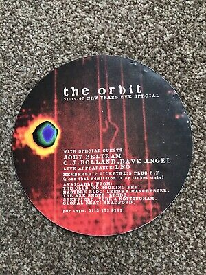 The Orbit @ The Afterdark Morley Flyer December/ January 95 / 96 Style 1 • 2£
