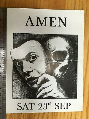 Amen Rave Flyer – Secret Location 23 Sept 1989 • 7.99£