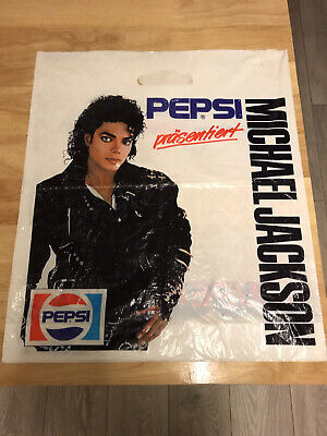 Michael Jackson Memorabilia Carrier Bag 1987 • 4.30£