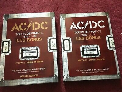Acdc Oop Sold Out Tours De France 1976-2014 Bonus Bon Scott Angus Malcolm Young • 100£