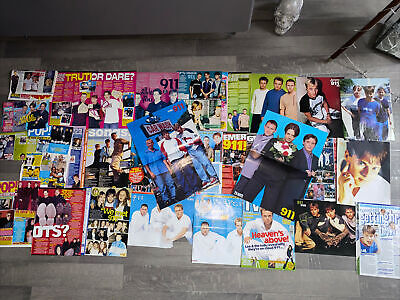 911 Tv Hits Magazine Large Collection Of Cuttings • 13.99£