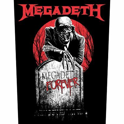 MEGADETH Tombstone 2021 GIANT BACK PATCH 36 X 29 Cms OFFICIAL MERCHANDISE • 8.49£