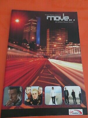 David Bowie  / Suede  Official PROGRAMME - MIOVE FESTIVAL - Manchester 2002 34pg • 20£