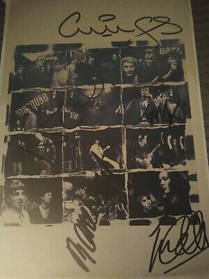 Oasis  Autographs Original Line Up • 80£