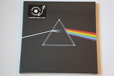 PINK FLOYD The Dark Side Of The Moon SEALED Official Canvas Wall Art UNUSED • 0.99£