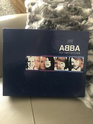 Abba The Collection Boxed Set 3cd And VHS Video • 9.99£