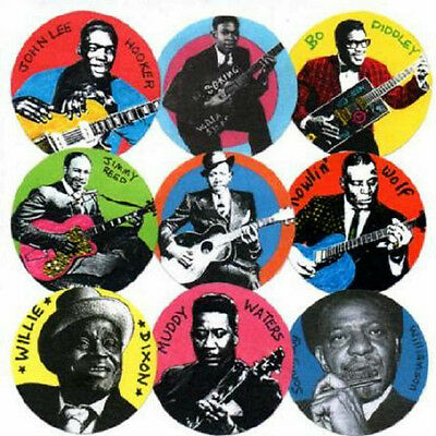 9 Blues Badges. John Lee Hooker, Howlin' Wolf & Muddy Waters, Robert Johnson. • 6.99£