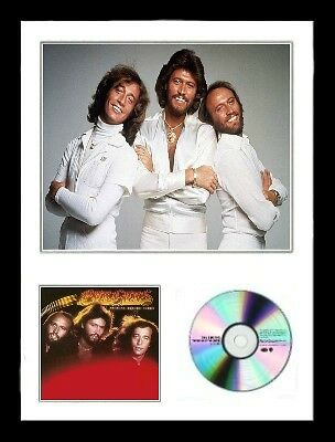 Bee Gees / Limited Edition /Framed/Photo & CD Presentation/Spirits Having Flown • 59.99£
