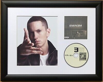 Eminem /Limited Edition /Framed/Photo & CD Presentation /The Marshall Mathers LP • 59.99£