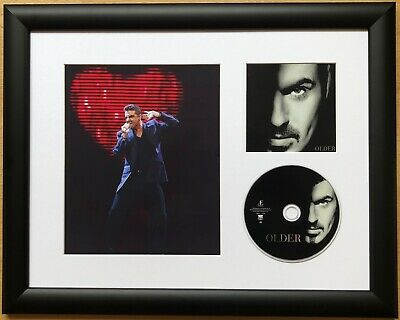George Michael / Limited Edition / Framed / Photo & CD Presentation / Older • 59.99£