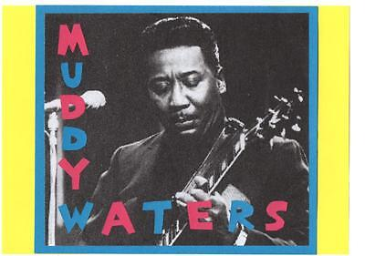 MUDDY WATERS POSTER. Blues. • 5.49£