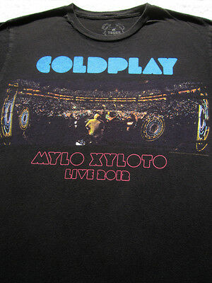 COLDPLAY Mylo Xyloto 2012 Tour MEDIUM Concert T-SHIRT • 23.60£