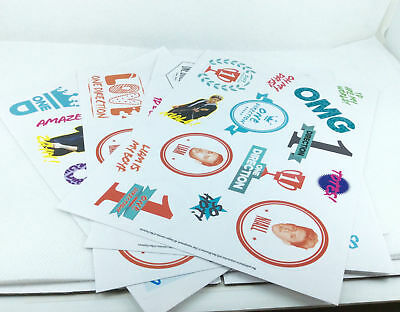 One Direction Sticker Pack • 1.75£