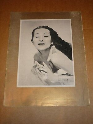 Yma Sumac 1954 UK Tour Programme  • 16£