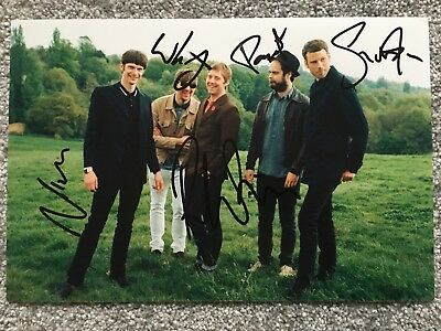 Kaiser Chiefs Hand Signed 12x8 Photo. Autographed By Band. Wilson + 4 • 74.99£
