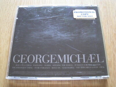 George Michael Older Promo CD Album • 20£