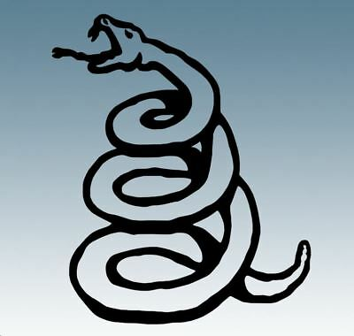 METALLICA  DON'T TREAD ON ME  SNAKE Vinyl Decal Sticker For Car, Laptop, Etc... • 1.95£
