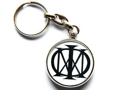 DREAM THEATER Progressive Metal Band Chrome Keyring Picture Both Sides • 5.49£
