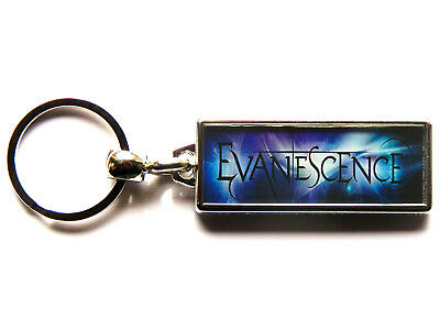 EVANESCENCE American Rock Band Large Chrome Keyring Picture Both Sides • 4.99£