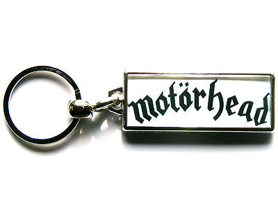 MOTORHEAD Heavy Metal Band Large Chrome Keyring Picture Both Sides • 4.99£