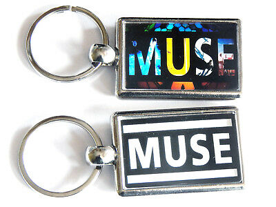 MUSE Rock Band Chrome Keyring Picture Both Sides • 4.99£