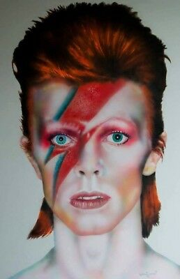 David Bowie Painting • 200£