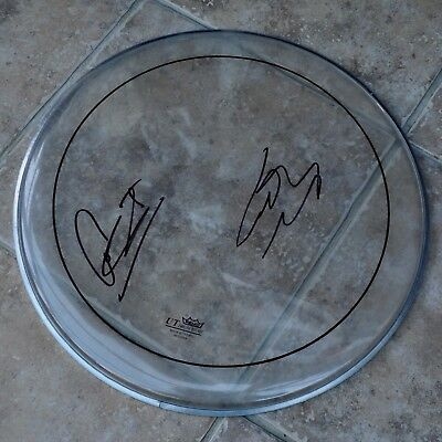 "Ward Thomas Signed 16"" Remo Drum Skin Catherine & Lizzy • 29.99£"