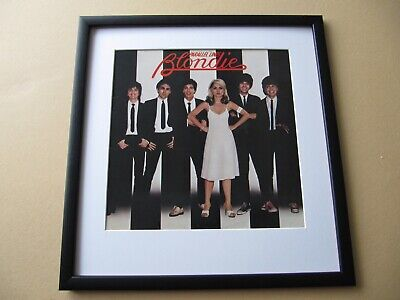 BLONDIE Parallel Lines - Eat To The Beat - Best Of Blondie FRAMED ALBUM COVER • 45£