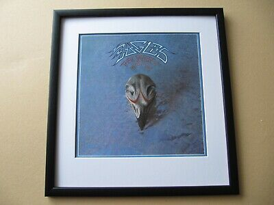 EAGLES Hotel California - Greatest Hits - Eagles Live FRAMED ALBUM COVER • 45£