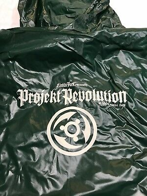 Linkin Park Projekt Revolution Tour 2004 Pancho One Size Fits All Condition New • 39.07£